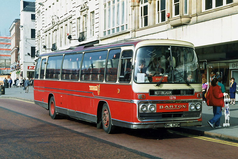 1376 OAL620M, Nottingham 4/3/1992