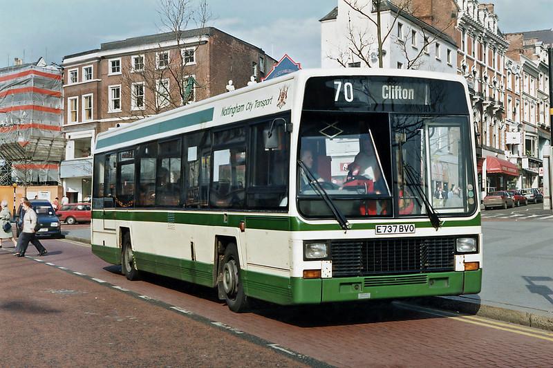737 E737BVO, Nottingham 4/3/1992