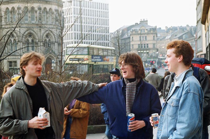 Richard Stiles, Rob Chisholm and Craig Rothwell, Bradford 8/2/1992