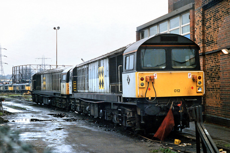 58012 and 58005, Saltley TMD 7/3/1992