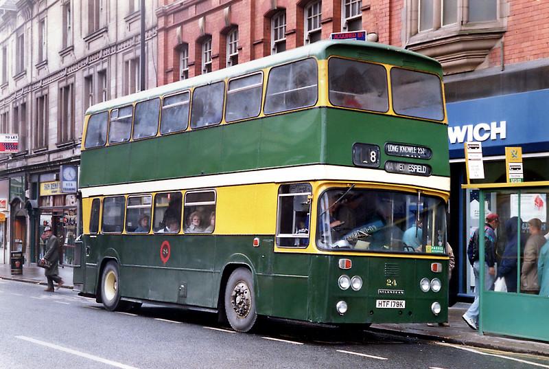 24 HTF179K, Wolverhampton 7/3/1992