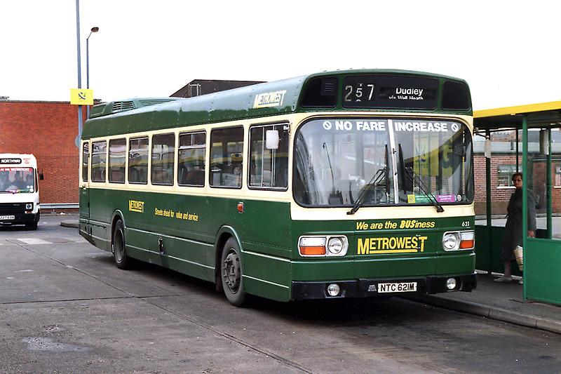 621 NTC621M, Stourbridge 7/3/1992