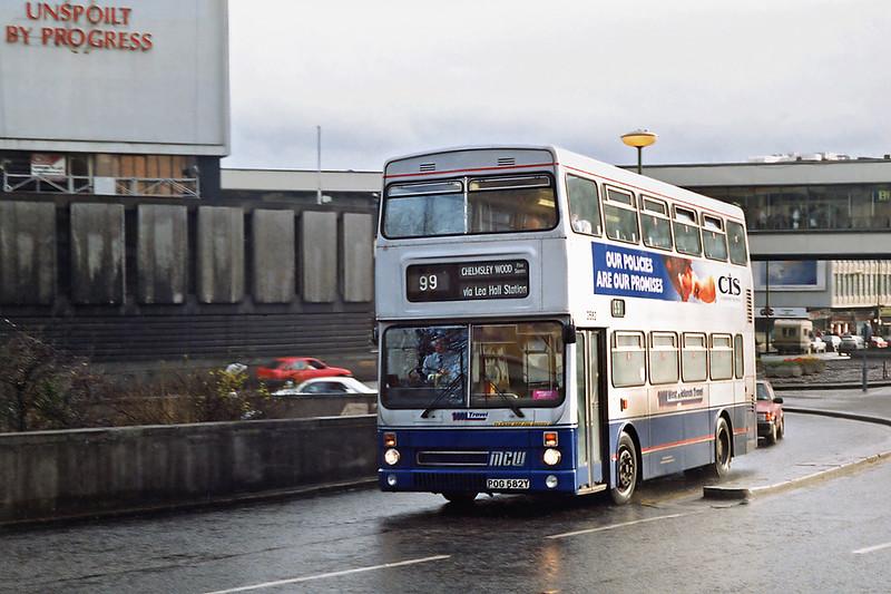 2582 POG582Y, Birmingham 7/3/1992