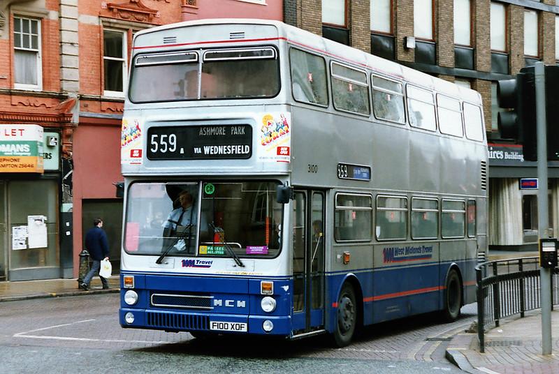 3100 F100XOF, Wolverhampton 7/3/1992