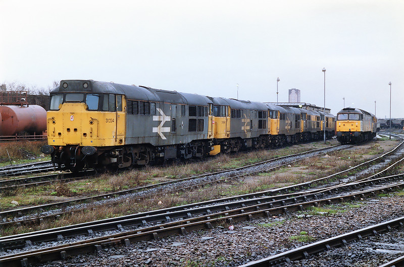 31234, 31164, 31317, 31102, 31166, 47360 and 31516, Saltley TMD 7/3/1992