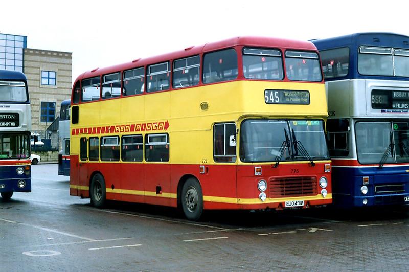 775 EJO491V, Wolverhampton 7/3/1992