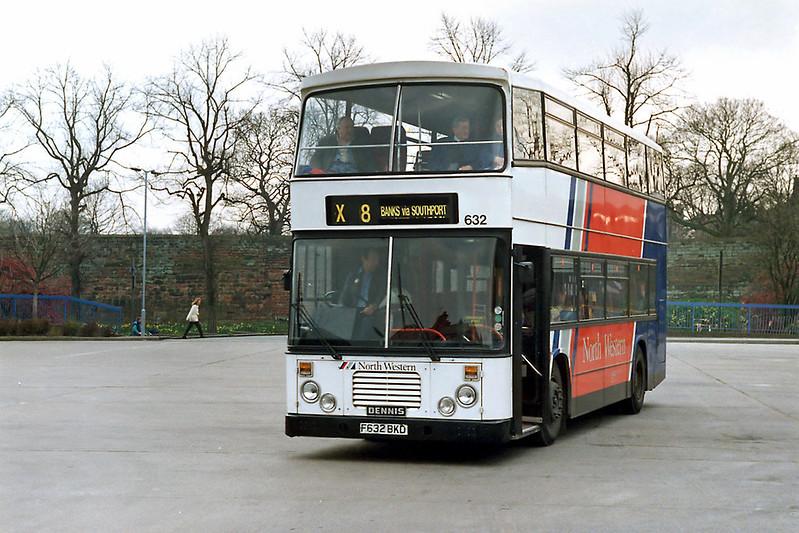 632 F632BKD, Chester 8/4/1992