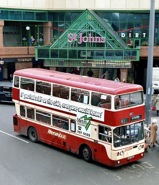 1817 PHF558T, Liverpool 8/4/1992