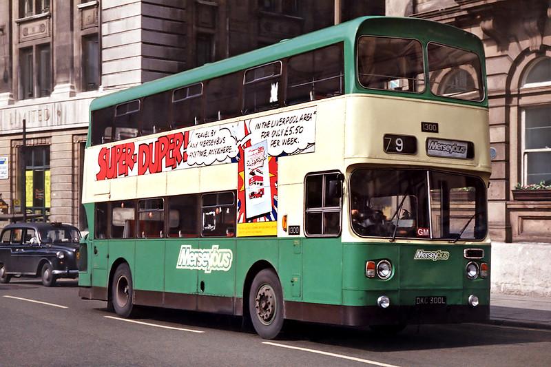 1300 DKC300L, Liverpool 8/4/1992
