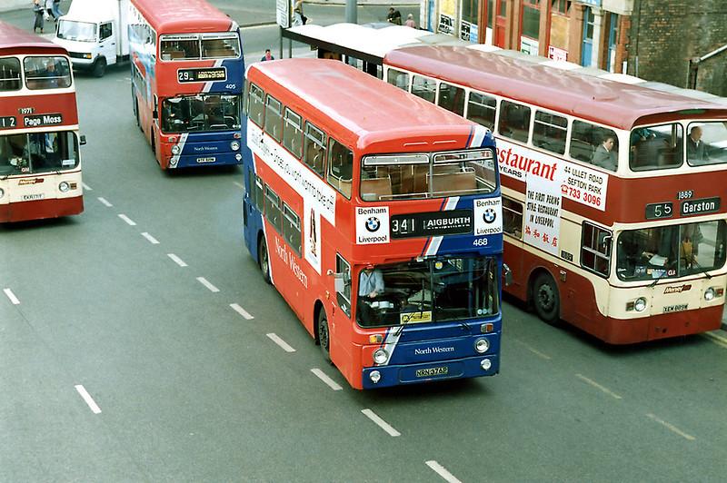 468 NRN376P, Liverpool 8/4/1992