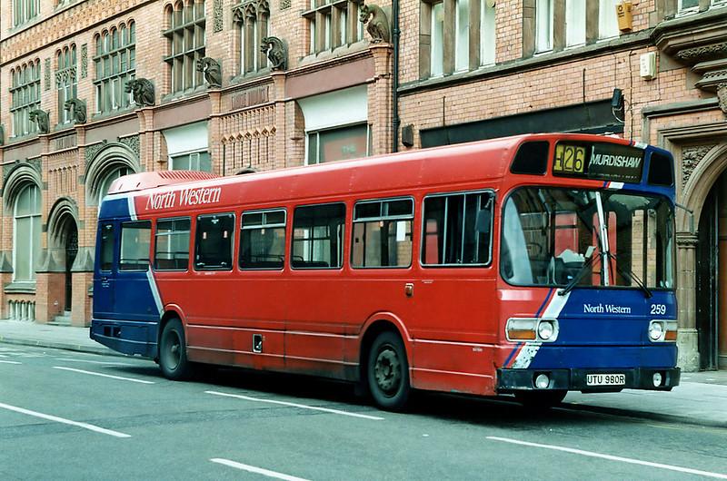 259 UTU980R, Liverpool 8/4/1992