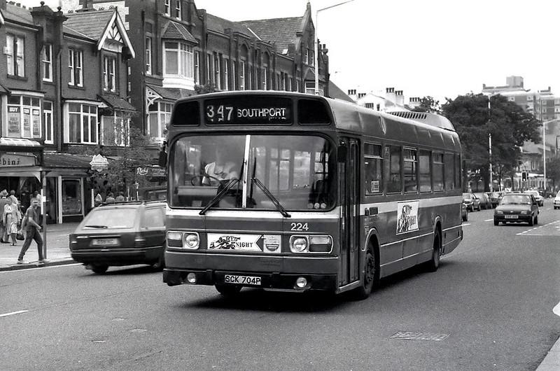 224 SCK704P, Southport 8/6/1992