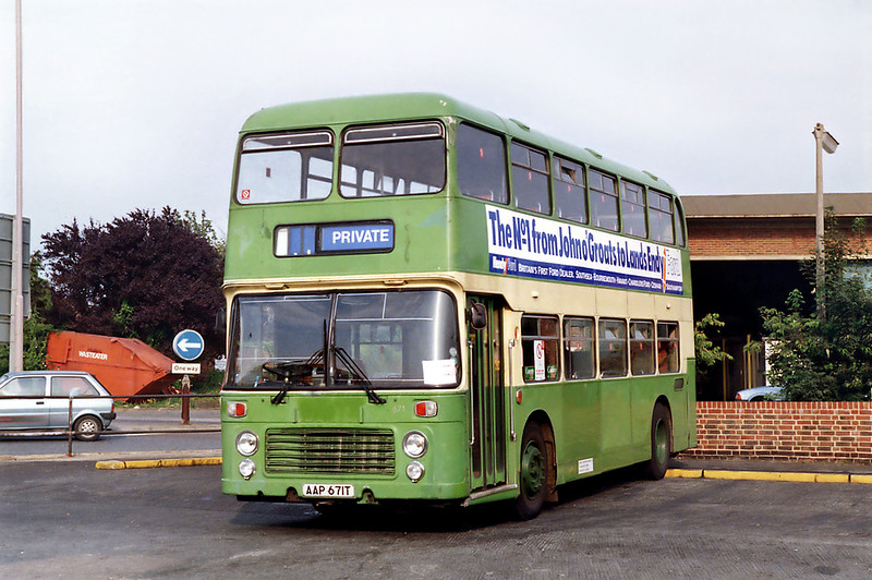 671 AAP671T, Chichester 8/8/1992