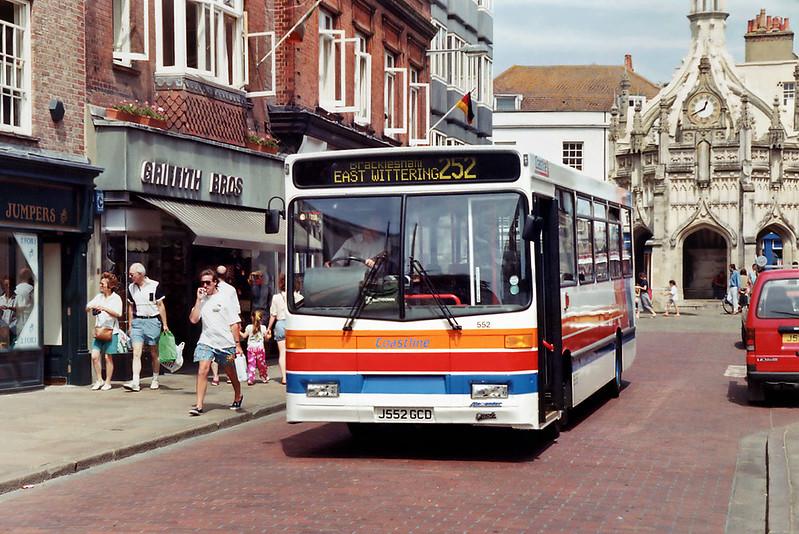 552 J552GCD, Chichester 8/8/1992