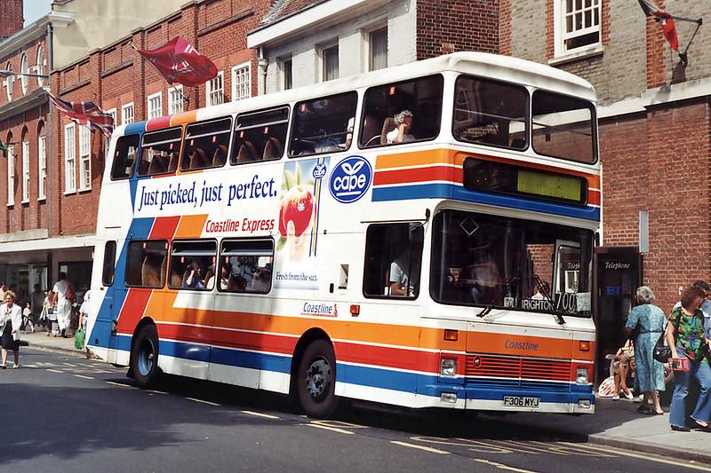 306 F306MYJ, Chichester 8/8/1992