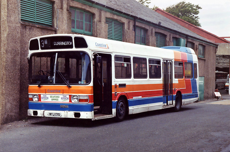 171 WYJ171S, Worthing 8/8/1992