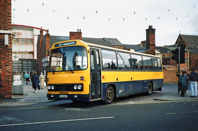 RVN243X, St Helens 9/1/1992