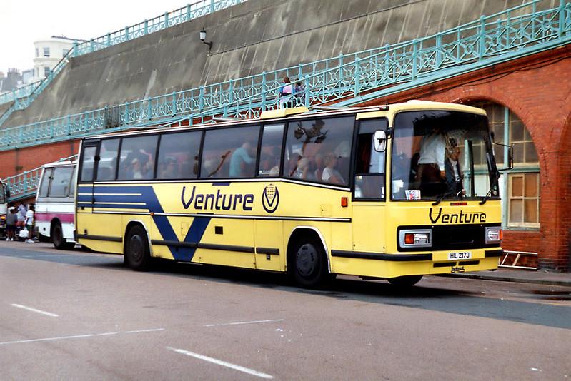 Venture Coaches HIL2173, Brighton 9/8/1992