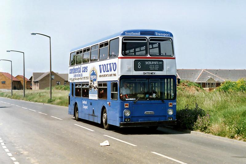250 Q475MEV, Shoeburyness 12/6/1992
