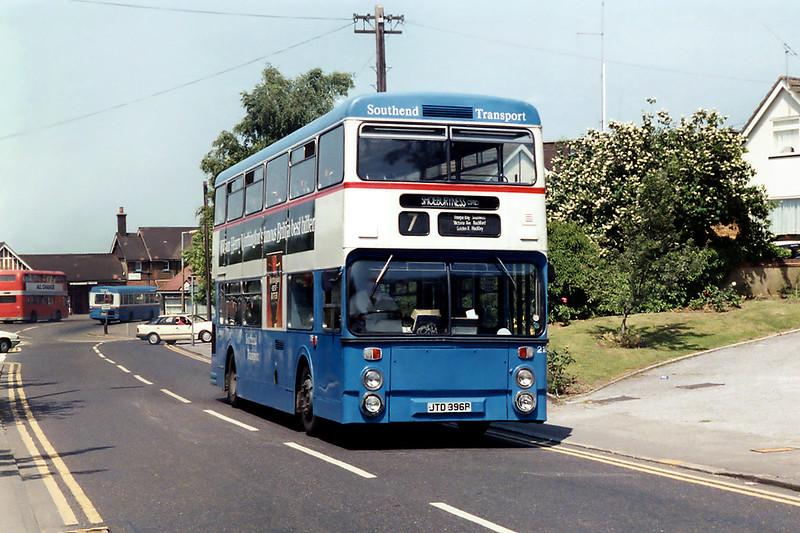 216 JTD396P, Rayleigh 13/9/1992