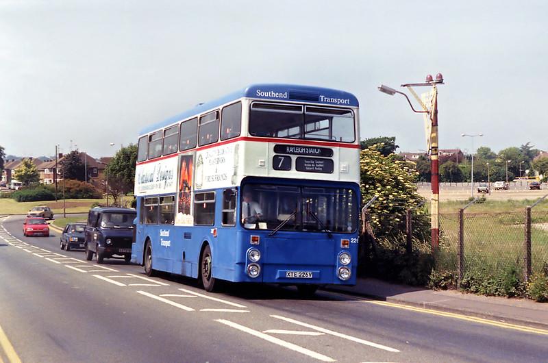 226 XTE226V, Southend Airport 13/6/1992