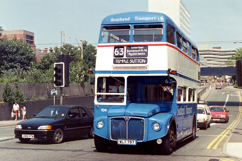 104 WLT797, Southend 13/6/1992