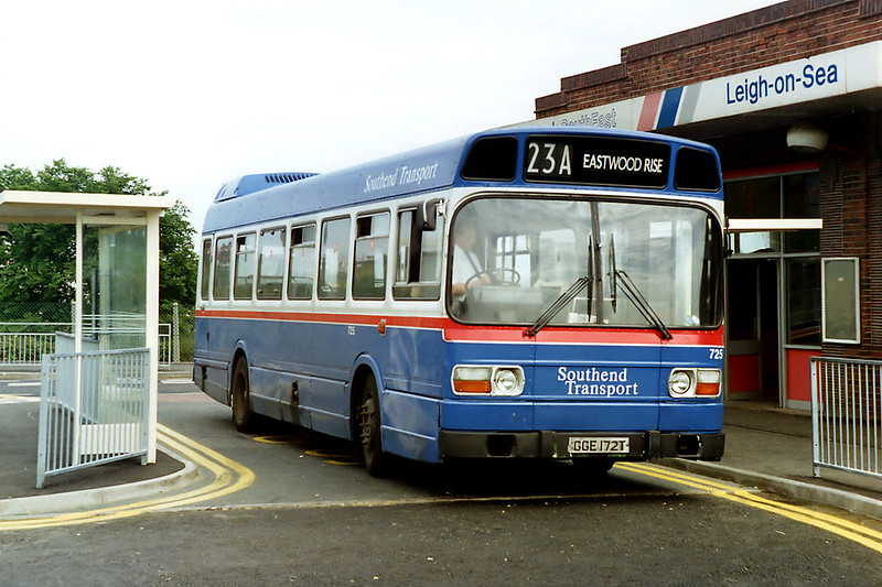 725 GGE172T, Leigh on Sea 12/6/1992