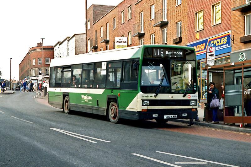 313 F313AWW, Wakefield 13/2/1992