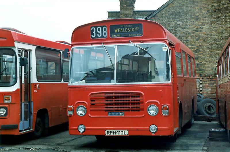 RPH110L, Wealdstone 16/8/1992
