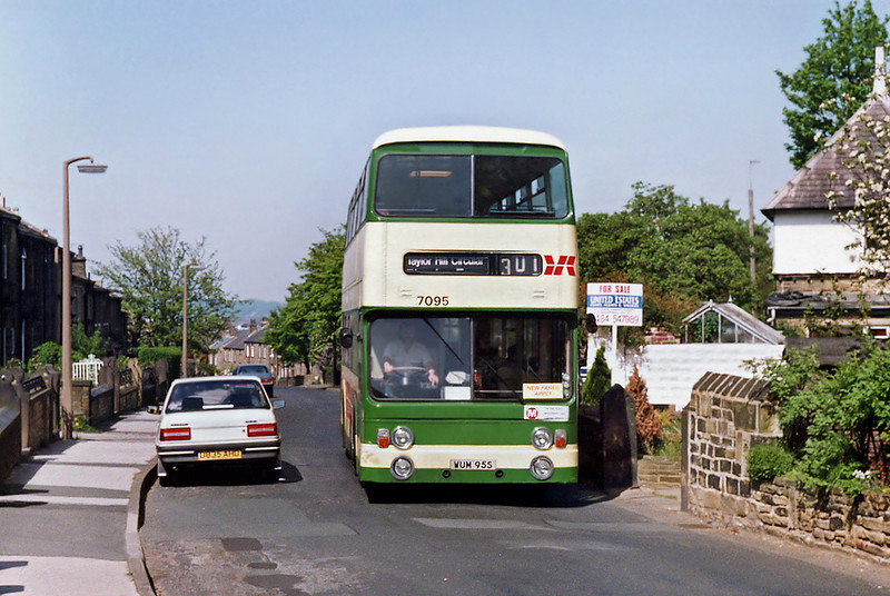 7095 WUM95S, Taylor Hill 17/5/1992