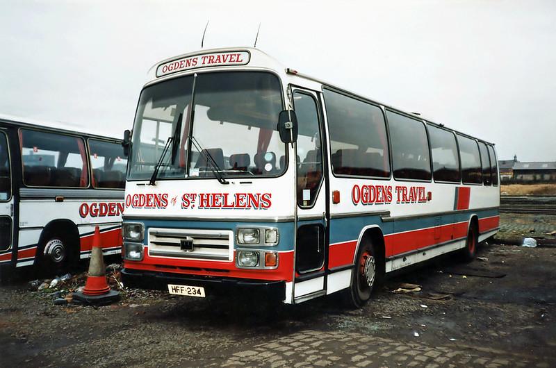 HFF234, St Helens 18/1/1992