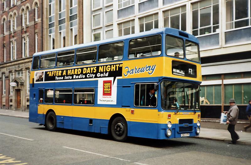 172 E913KYR, Liverpool 18/1/1992