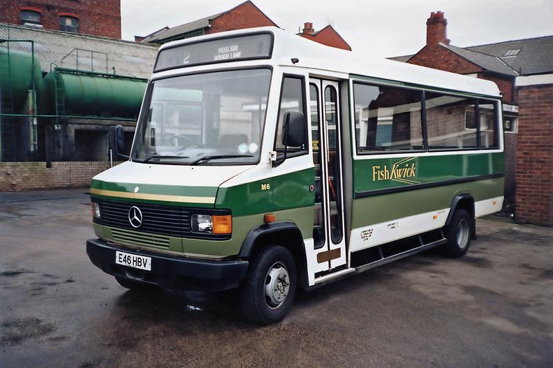 M6 E46HBV, Leyland 19/1/1992