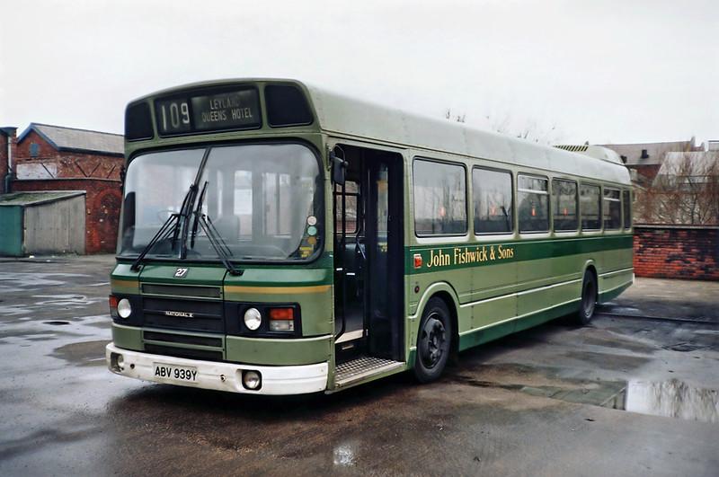 27 ABV939Y, Leyland 19/1/1992
