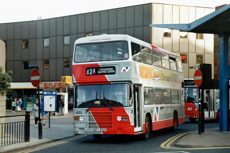 403 SPY203X, Newcastle 21/3/1992