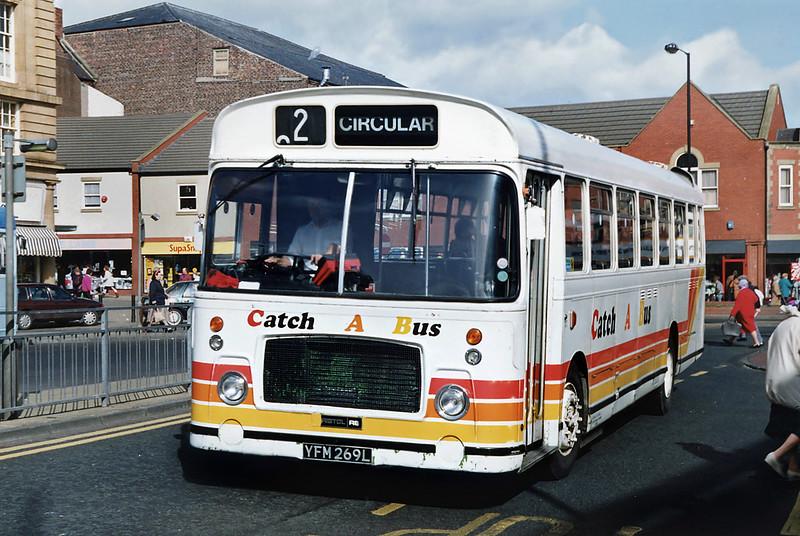 YFM269L, South Shields 21/3/1992