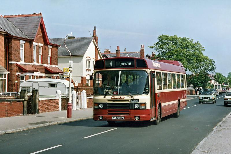 6098 VBG98V, St Lukes 21/5/1992