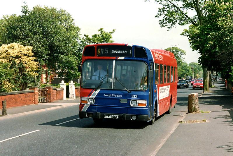 212 PTF755L, Southport 21/5/1992