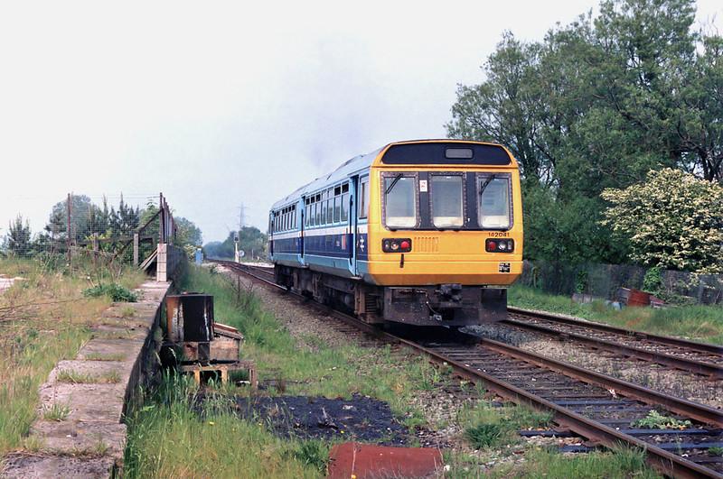 142041 Rufford 22/5/1992<br /> 1508 Ormskirk-Preston