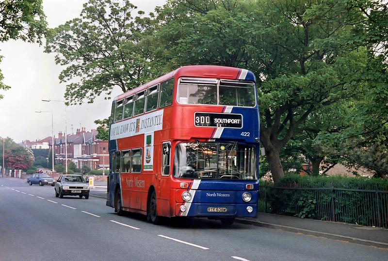 422 RTF638M, St Lukes 22/5/1992