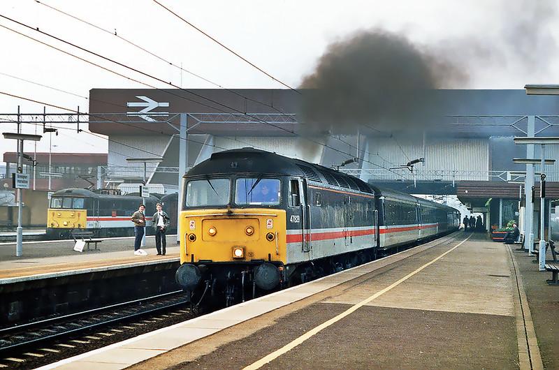 47829 Birmingham International 25/2/1992<br /> 1O90 1126 Glasgow Central-Brighton