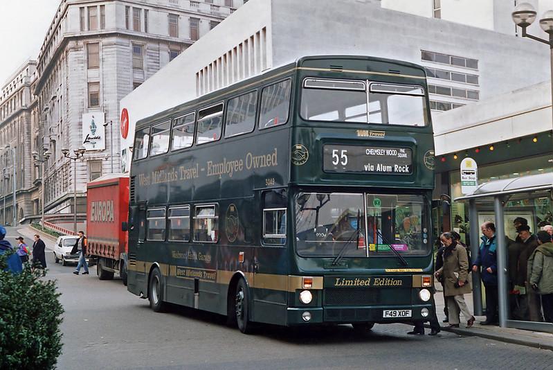 3049 F49XOF, Birmingham 25/2/1992