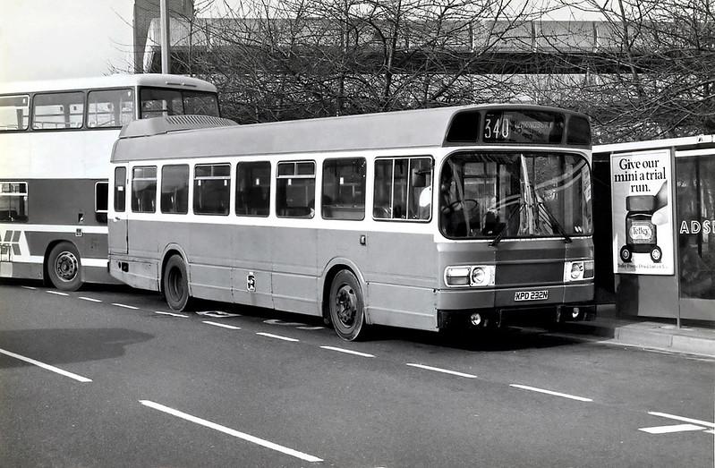 XPD232N, Huddersfield 25/2/1992