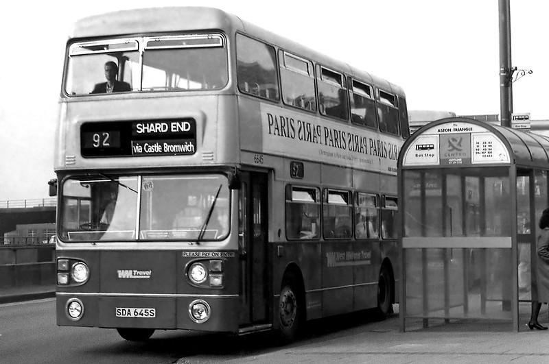 6645 SDA645S, Aston 25/2/1992