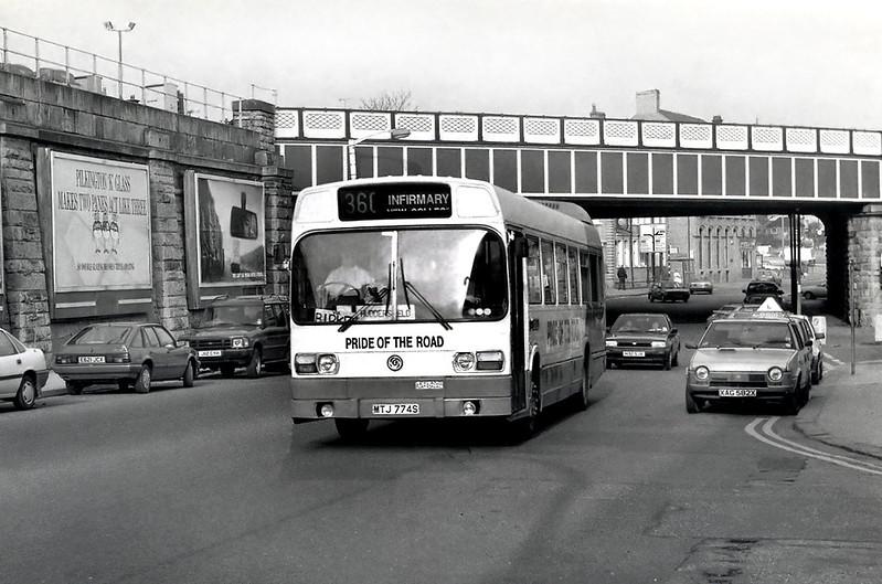 MTJ774S, Huddersfield 25/2/1992