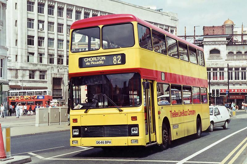 804 G646BPH, Manchester 25/6/1992