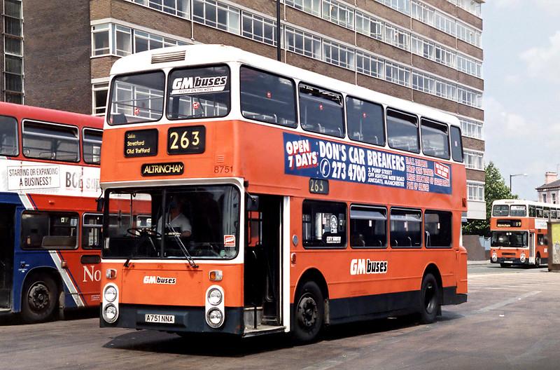 8751 A751NNA, Altrincham 25/6/1992