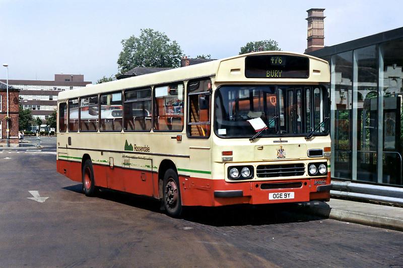 99 OGE9Y, Bury 25/6/1992