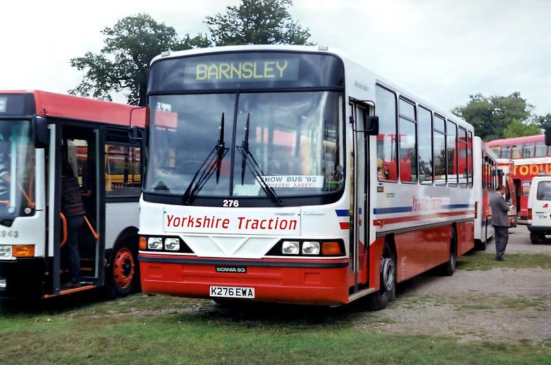 276 K276EWA, Woburn Abbey 27/9/1992