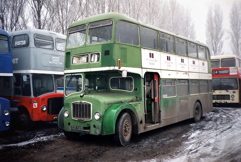2109 EDV521D, Sherburn-in-Elmet 29/1/1992